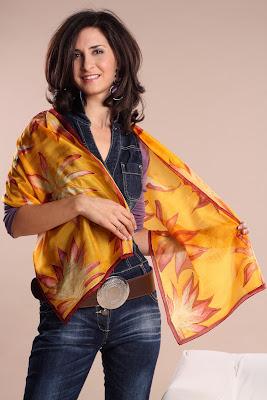 Silkyway selyemfestő műhely: ajándék ballagásra, anyák napjára