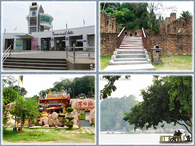 Lumut Jetty and popular sites in Pangkor Island