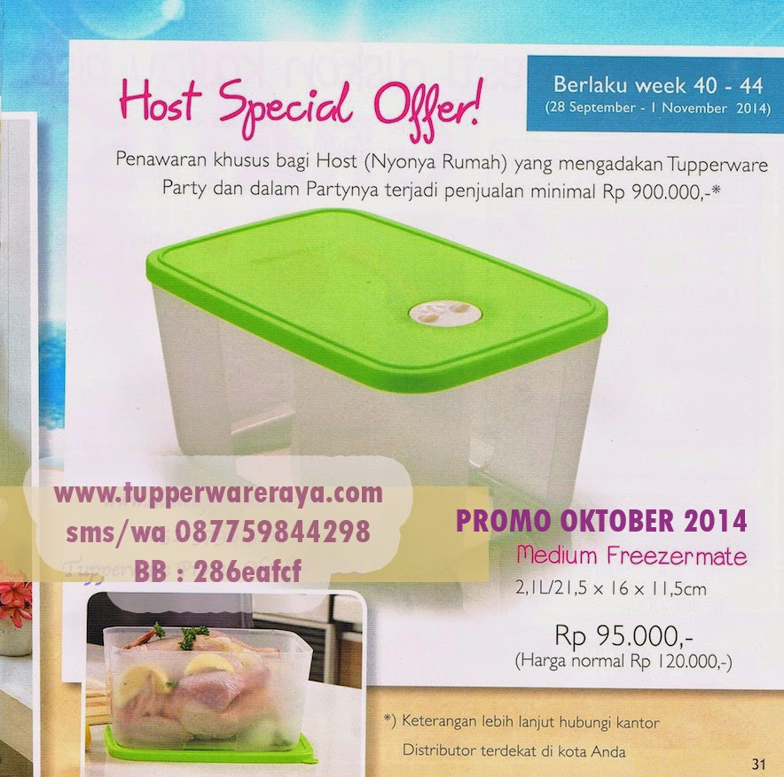 Tupperware Medium Frezermate HOT SPESIAL OFFER (HSO)