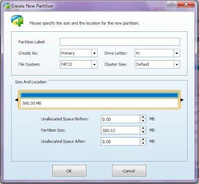 Cara Mempartisi SD Card Android Untuk Link2SD