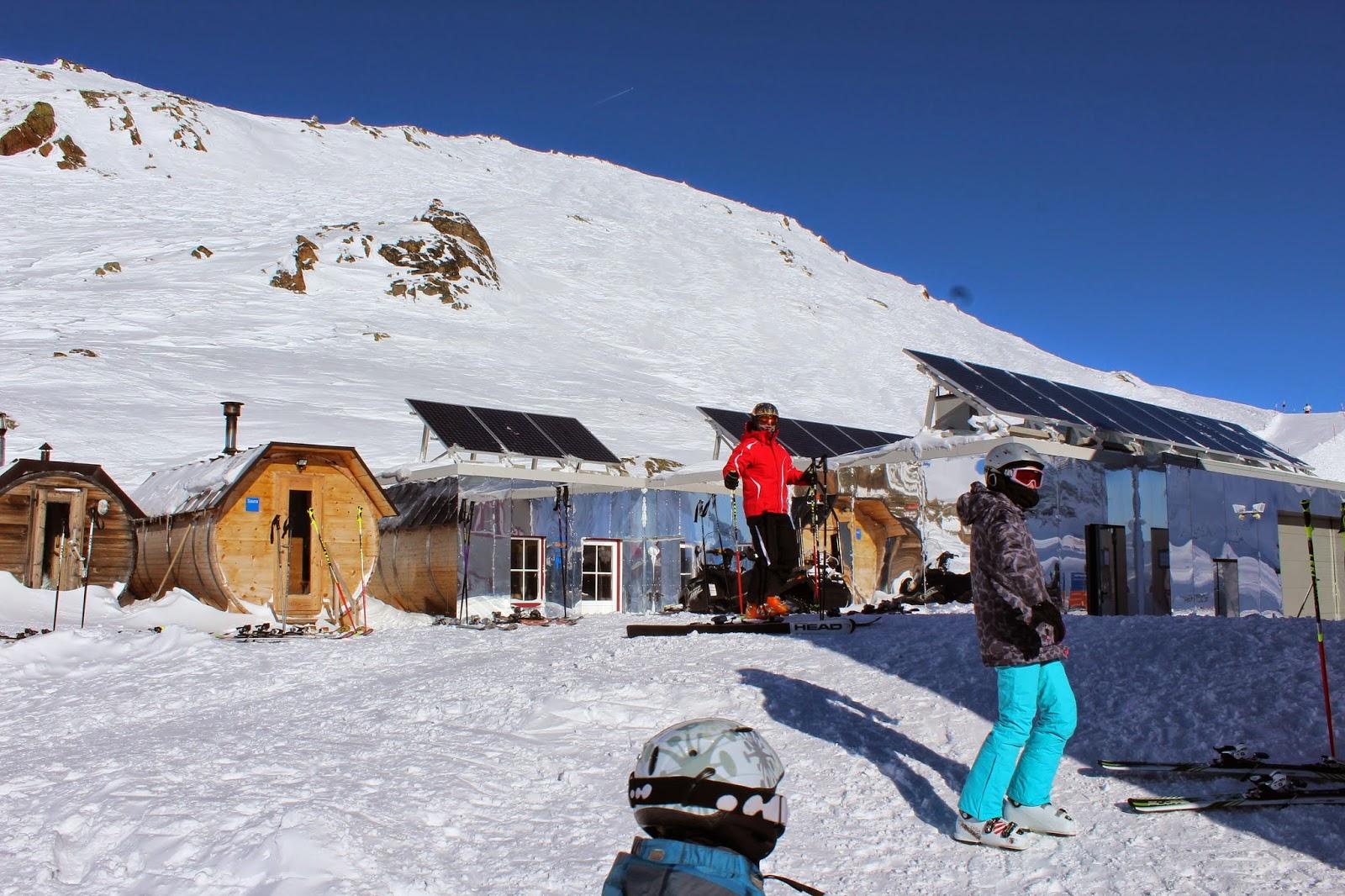 kompleks wypoczynkowy grawand,alpy wypoczynek,na narty w alpy,okrągła sauna