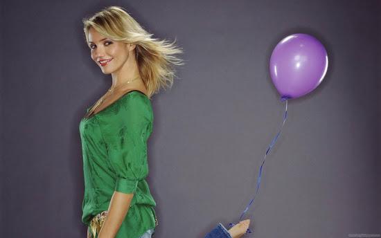 Cameron Diaz Beautiful Wallpaper-Hollywood Actress