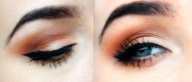 morphe brushes 35o eyeshadow palette warm neutral shades autumnal make up inspiration swatches