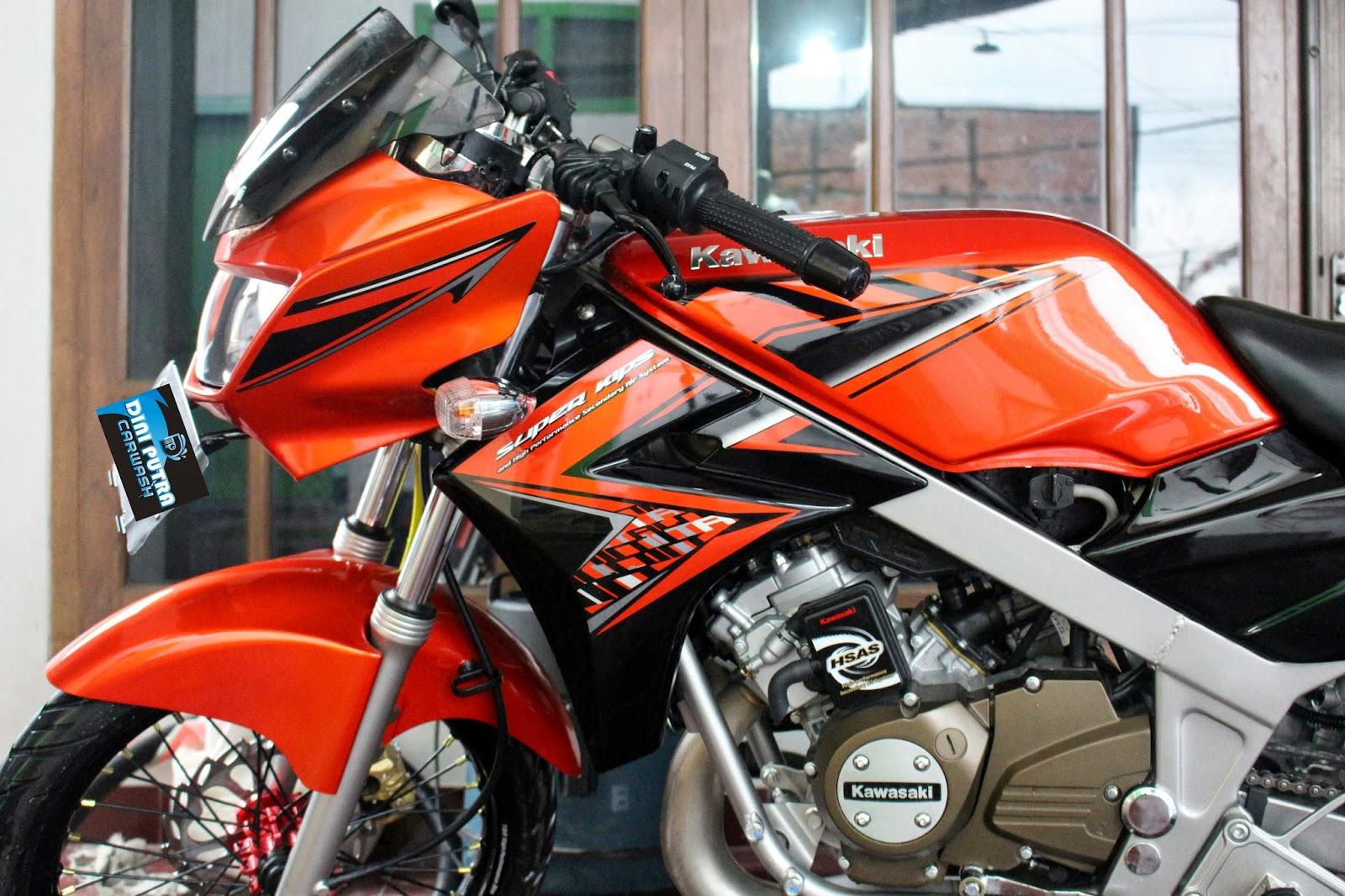 Ninja R 150 Detailing by dini putra carwash kediri