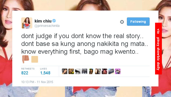 Kim Chiu speaks up about the viral video where she was seen cutting into a voters registration line
