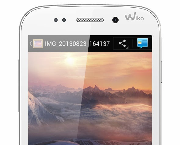 Wiko Stairway Blanc Smartphone Comparatif