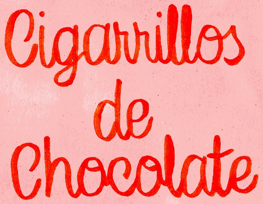 cigarrillos de chocolate