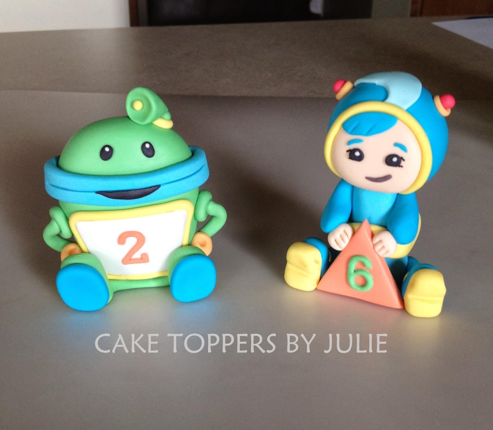 Team Umizoomi Cake Decorations