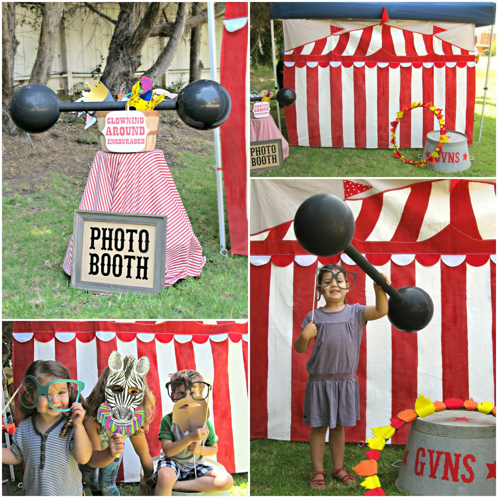 Homemade Circus Decorations Homemade By Jill Preschool Carnival Party