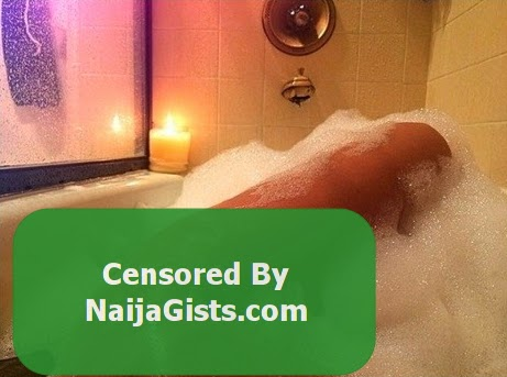 tonto dikeh naked shower picture