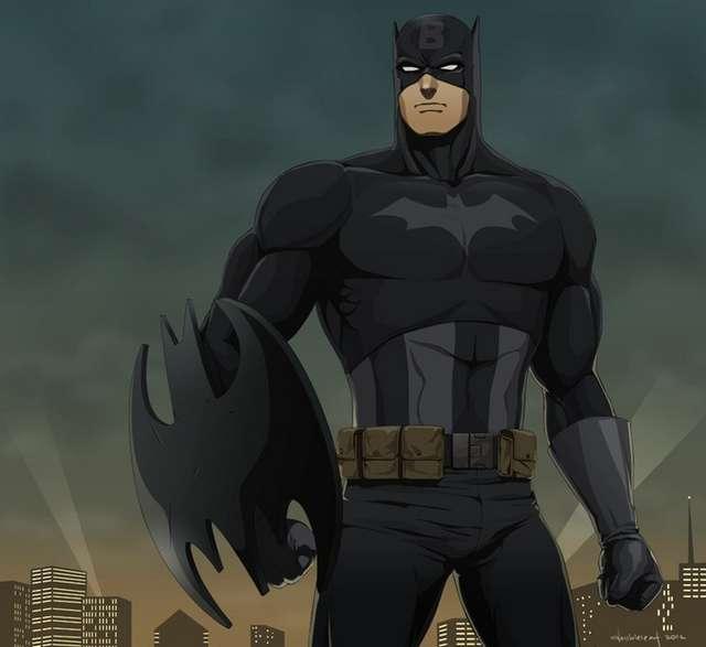 Increíble combinación de los personajes de Marvel y DC