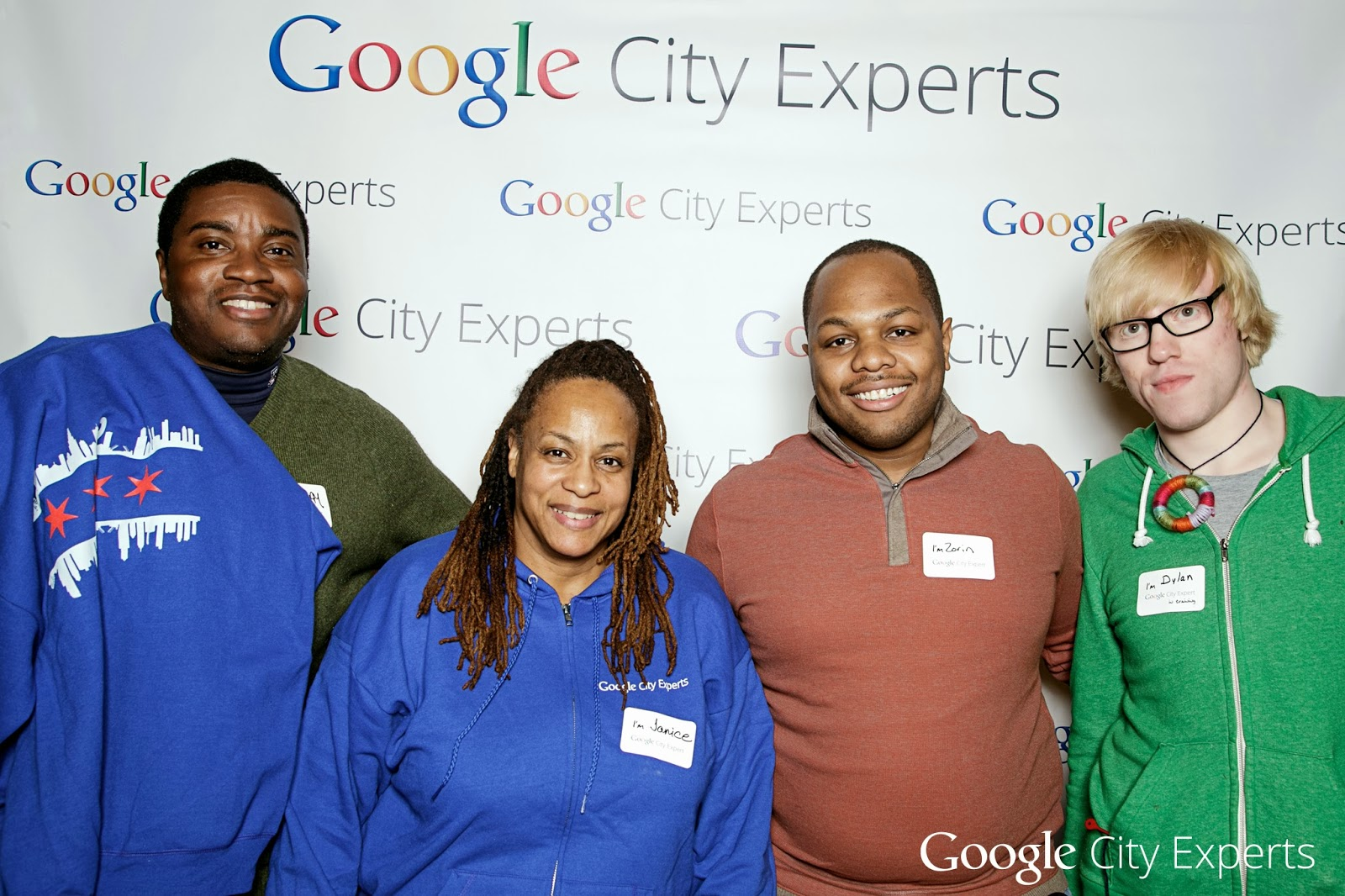 Google City Experts: Cedric, Janice, Zorin, and Dylan