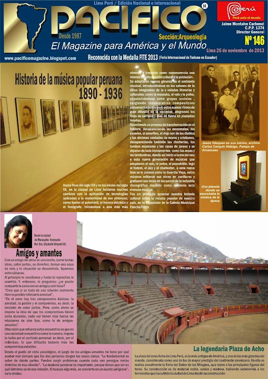 Revista Pacífico Nº 146 Arqueología