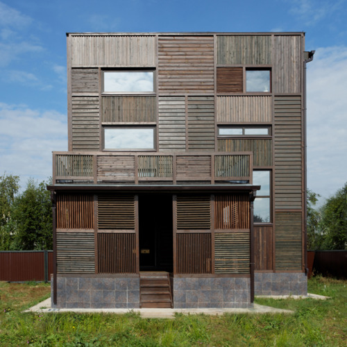 Kostelov patchwork wood house