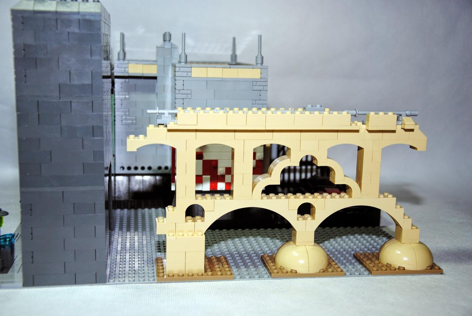 Vista de las ruinas del acueducto.