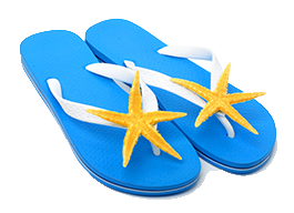 starfish beach sandals
