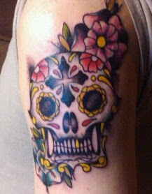 Sweet Sugar Skull Tattoo