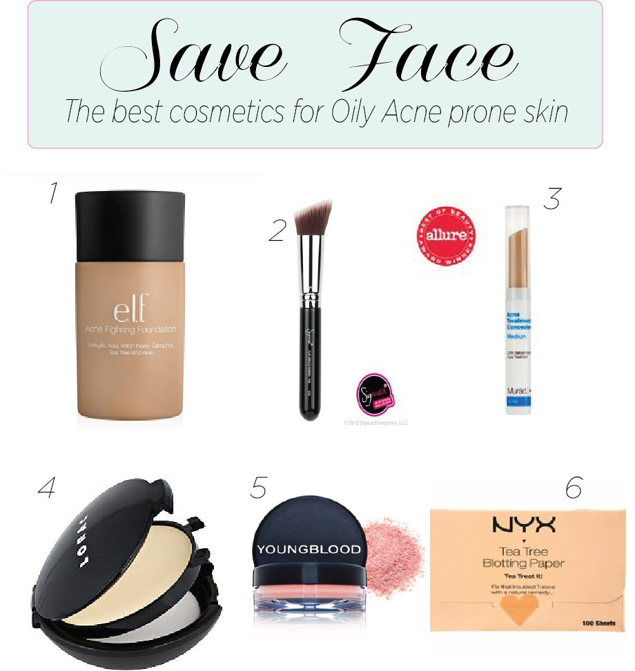 Skincare: Best Oily/Acne Makeup
