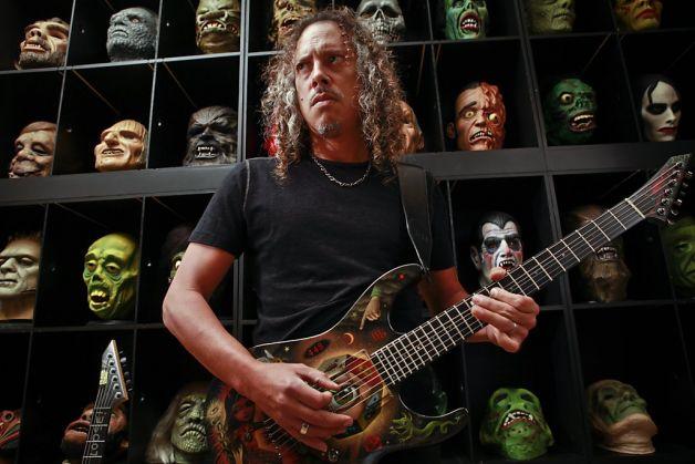 Metallicaperu Kirk Hammett Some Kind Of Moster