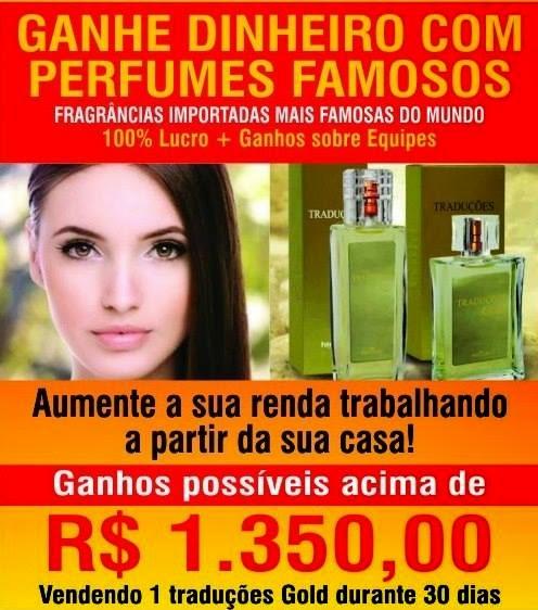 Seja um Consultor da Cosméticos e Perfumes Importados