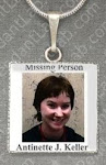 Missing Person Pendant