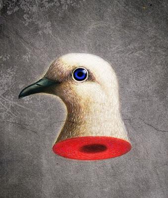 Anthony Freda illustration, NoBull Peace Prize for the website, Activist Post
