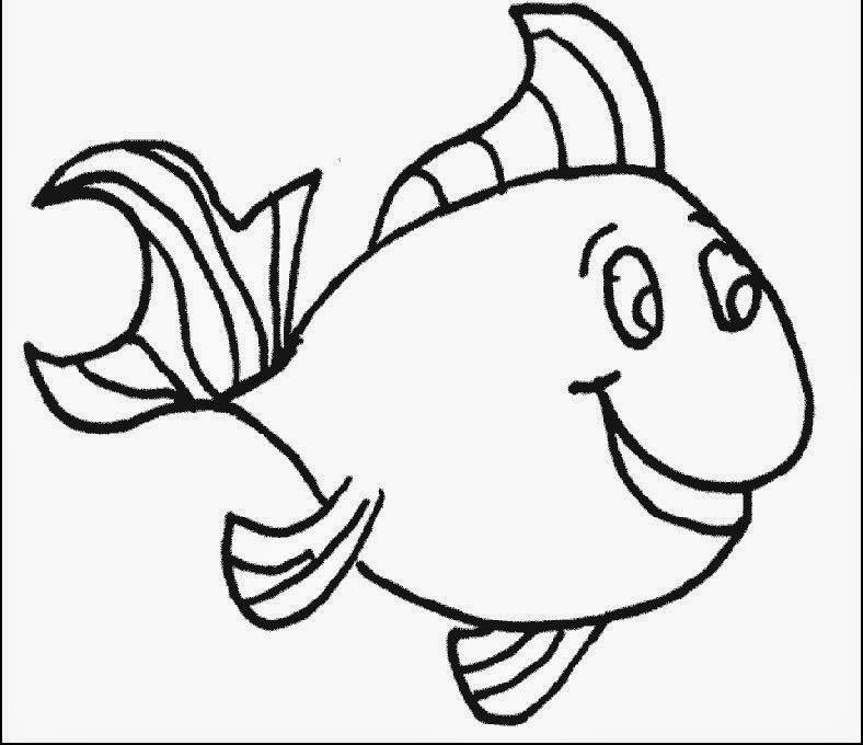 Printable Fish Coloring Pages For Kids