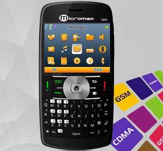 Micromax Q36 Triple SIM Mobile