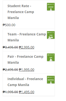 freelance camp manila 2014