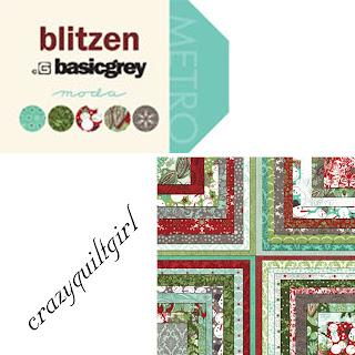 Moda BLITZEN Christmas Quilt Fabric by basicgrey