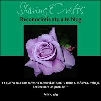 Reconocimiento al blog