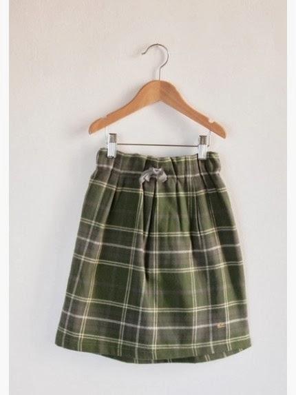falda cuadros Bobo Choses