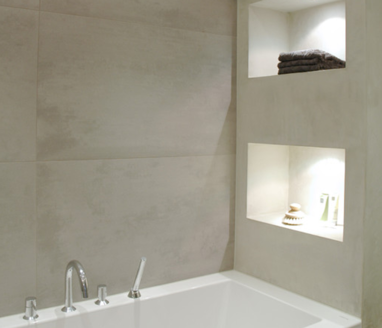 1 Recessed Niches In Shower Stalls And Jacuzzi Tub Areas In The Bathroom Allow You To