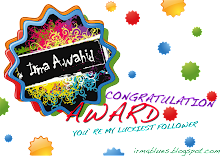 award dari cik irma A.wahid