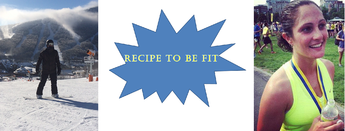 Recipe To Be FIT