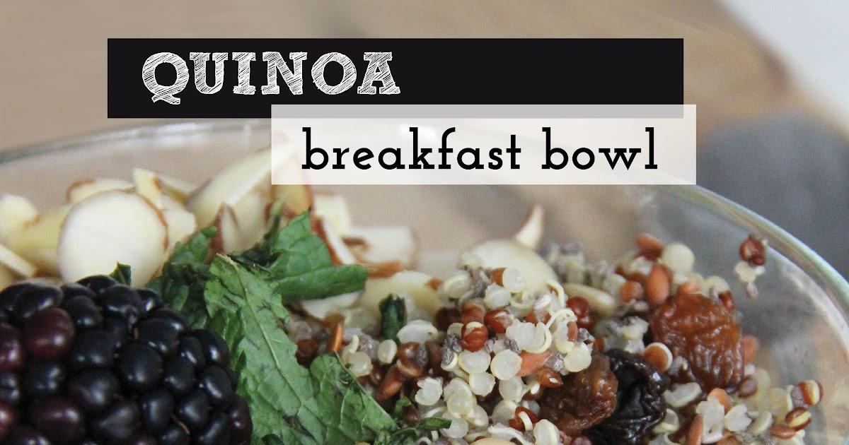 bona food: Quinoa Breakfast Bowl