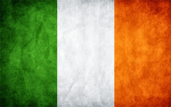 Irlanda bandeira intercambio