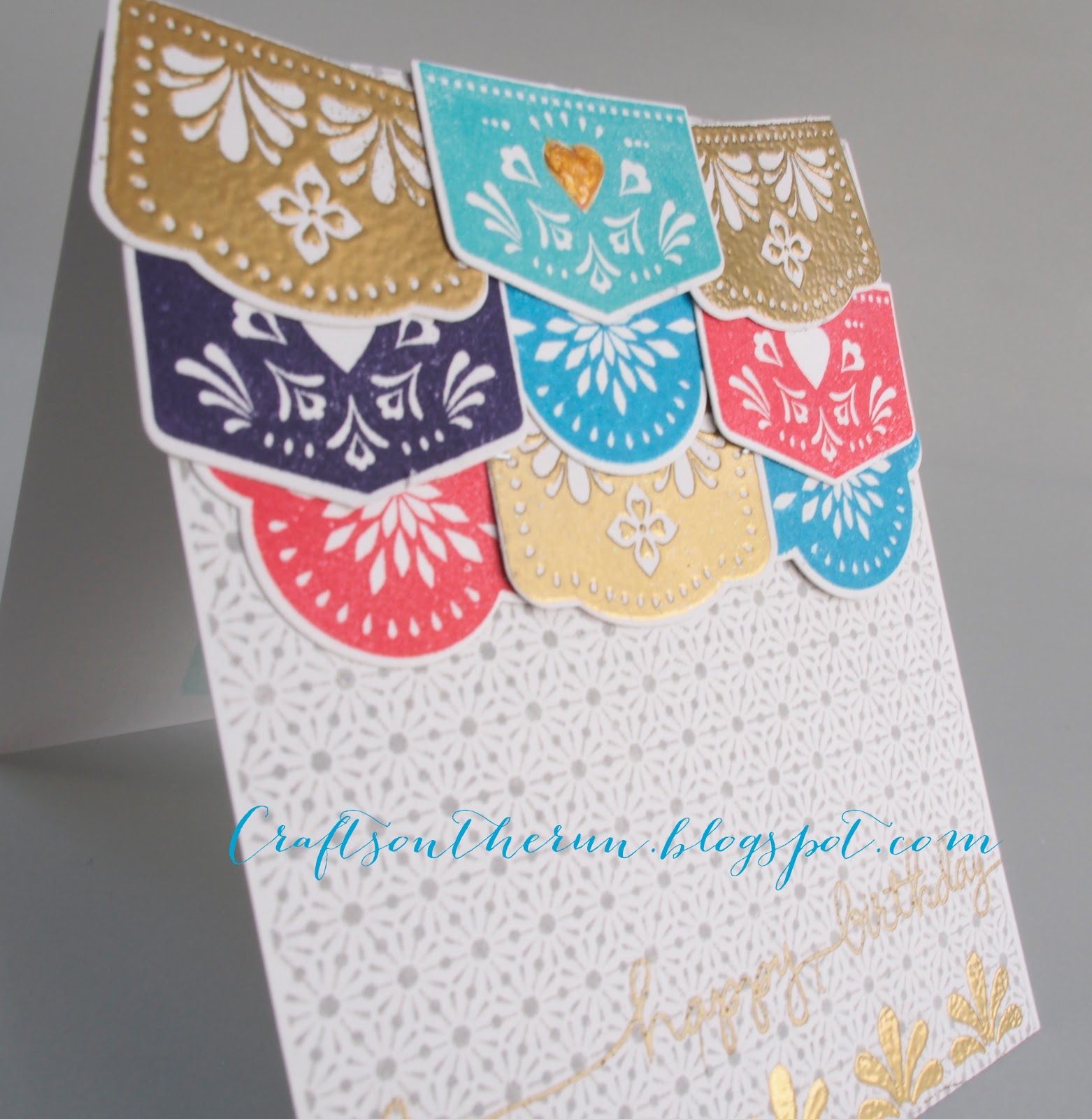 Avery Elle picado banner, birthday card, hero arts basic grey star background