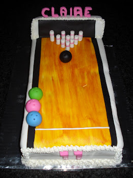 Bowling Cake