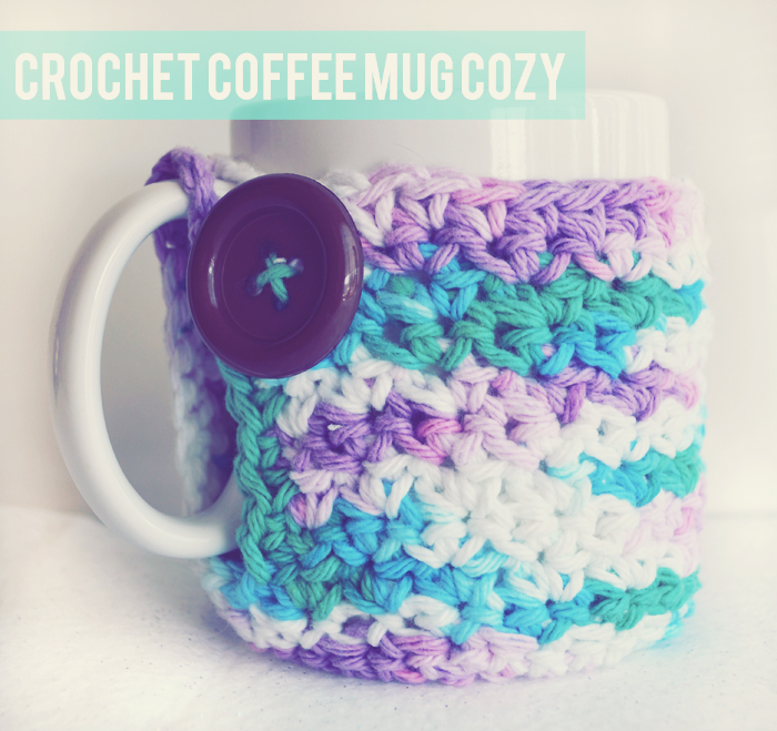 free crochet coffee mug cozy pattern