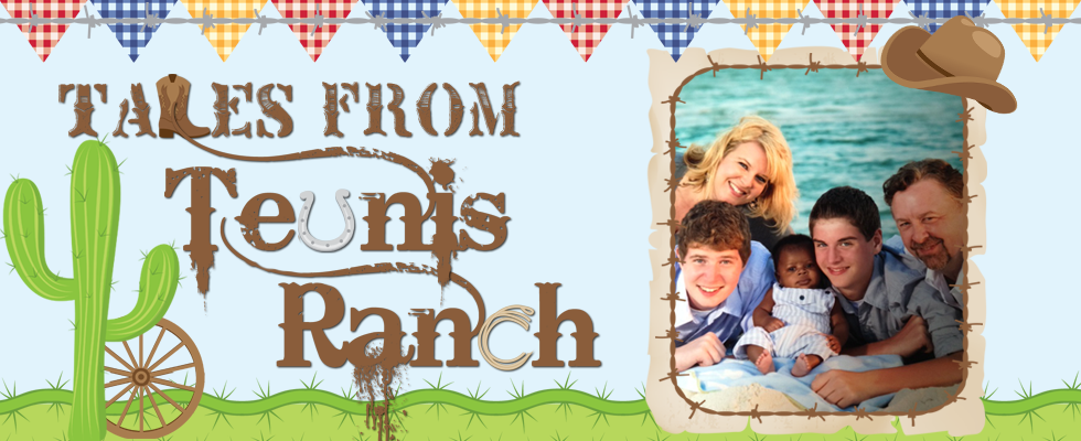 Tales from Teunis Ranch