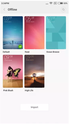 Update MIUI 7 Global Version Stable Xiaomi Mi4i
