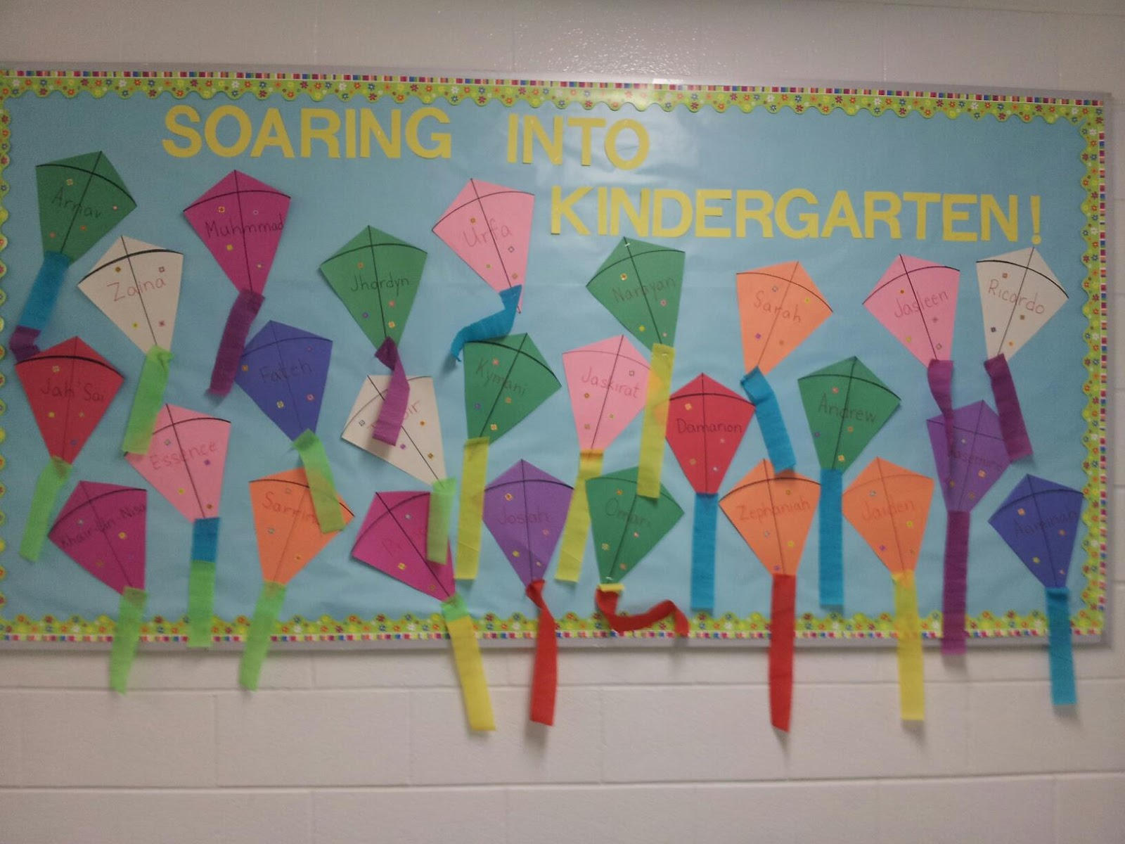 Commy Kids Room : Bulletin Board Ideas For Kindergarten Back To School
