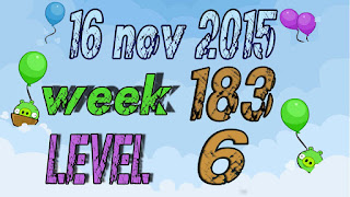 Angry Birds Friends Tournamentlevel 6 Week 183