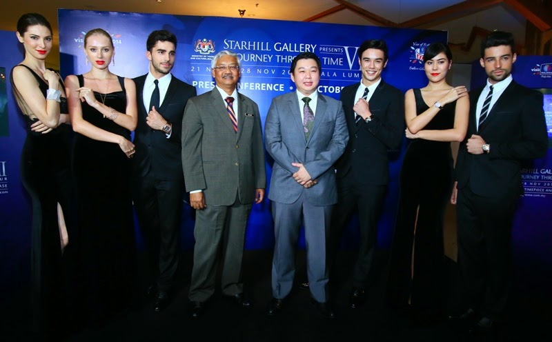 A Journey Through Time VIII @ Starhill Gallery, A Journey Through Time VIII, AJTTVIII, Starhill Gallery, Gala Dinner, Ministry of Tourism and Culture, Malaysia, Luxury Watches, Luxury Jewelry, Baselworld 2015