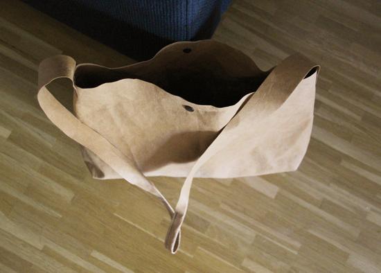 binedoro Blog, nähen, Tasche, Washme Papier, waschbares Pappier, DIY, Material, Produkttest