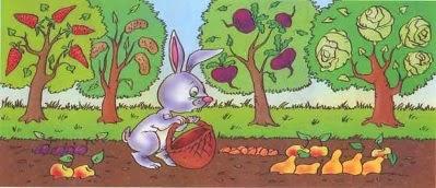 Задача про площадь сада. Сад занимает 80 га. Яблони занимают 5/8 этой площади, а вишни 31%. Математика для блондинок.
