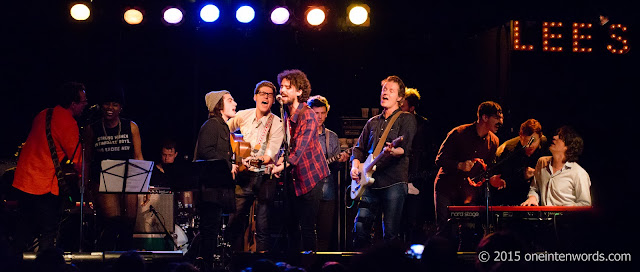 Cover Me Impressed Set 2: Sam Cash and the Romantic Dogs, SATE, The Elwins, Brendan Canning, Andrew Cash, Jim Cuddy, Devin Cuddy, Sam Polley at Lee's Palace, December 26, 2015 Photo by John at One In Ten Words oneintenwords.com toronto indie alternative music blog concert photography pictures