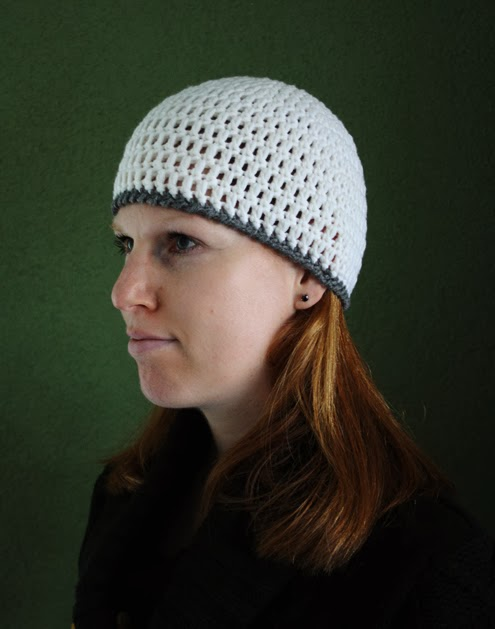 Womens beanie crochet tutorial