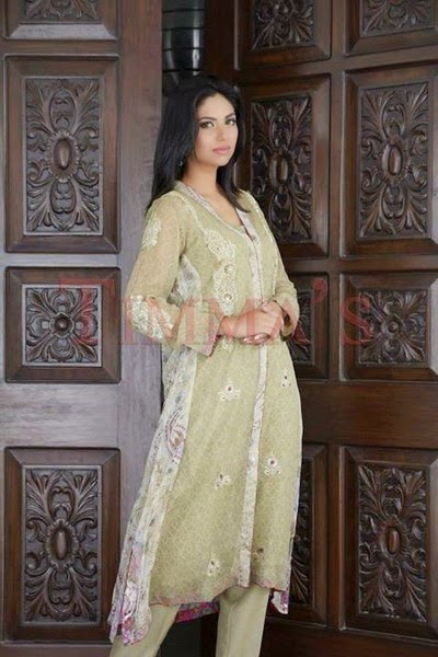 Timma's-Formal Party Wear Suits Collection 2014